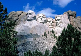 Mount Rushmore in Wyoming