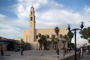 Die Peterskirche in Jaffa