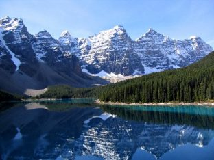 Moraine Lake im Banff-Nationalpark